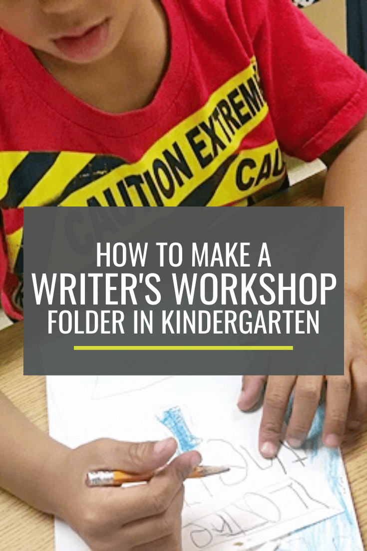 How to Make a Writer's Workshop Folder in Kindergarten