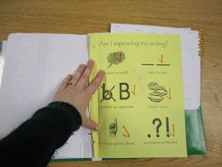 KindergartenWorks: creating a writer's workshop folder in kindergarten