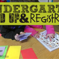 Round 'Em Up! Kindergarten Parent Brochure