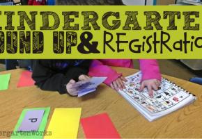 round 'em up! {Kindergarten Parent Brochure Printable} :: KindergartenWorks