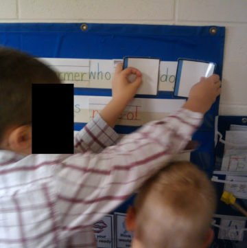 Teaching a sight word in five minutes each day