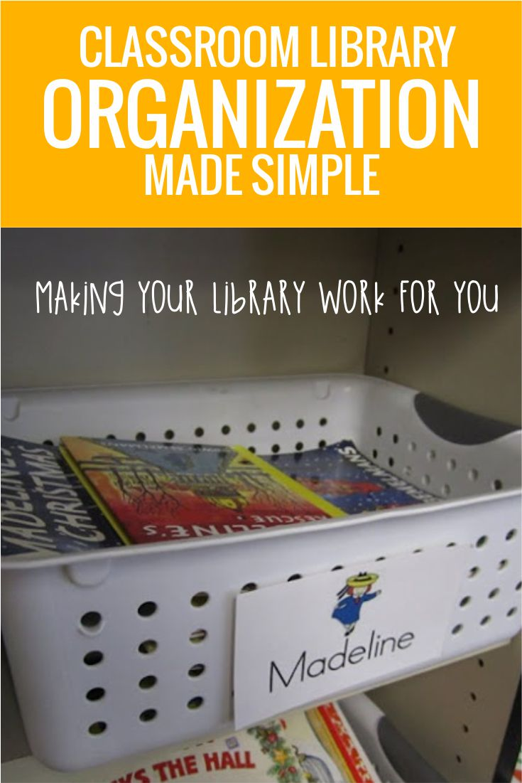 Free classroom library labels to match books and baskets for easy organization in kindergarten