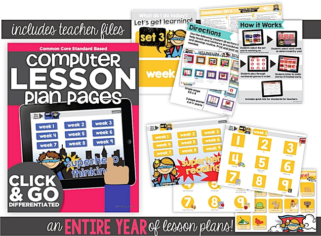 7 kindergarten standards based computer activities - Game design lesson plans for teachers ...