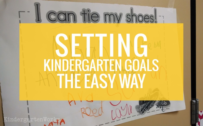 KindergartenWorks - kindergarten learning skills {on display}