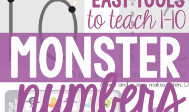 Monster Numbers – Easy Tools to Teach 0-10