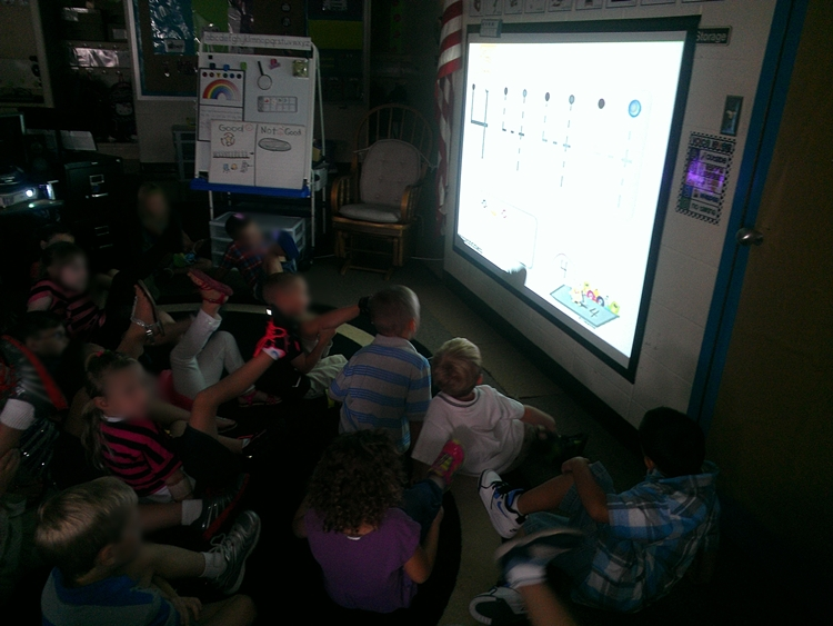 monster numbers numeral formation video in kindergarten