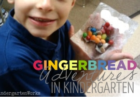 the gingerbread man adventures in kindergarten - KindergartenWorks