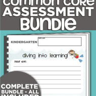 kindergarten common core assessments – the complete package!