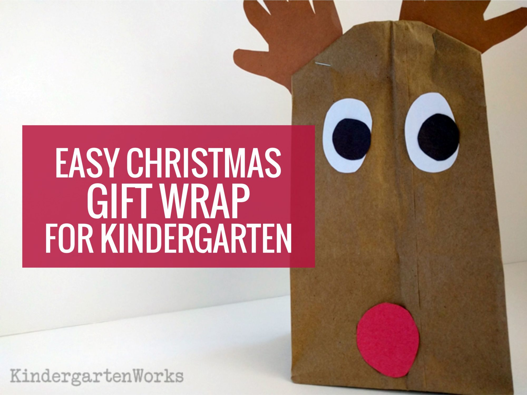 Christmas gift wrap - How to Wrap Chistmas presents in kindergarten