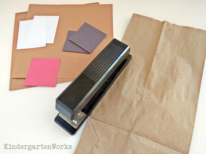 How to wrap parent Christmas gifts - kindergarten