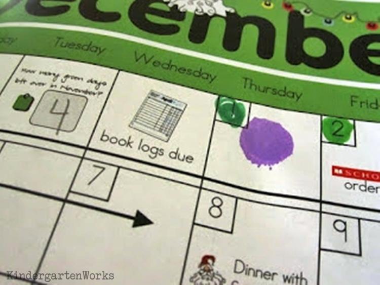 modifying calendar time in Kindergarten - KindergartenWorks