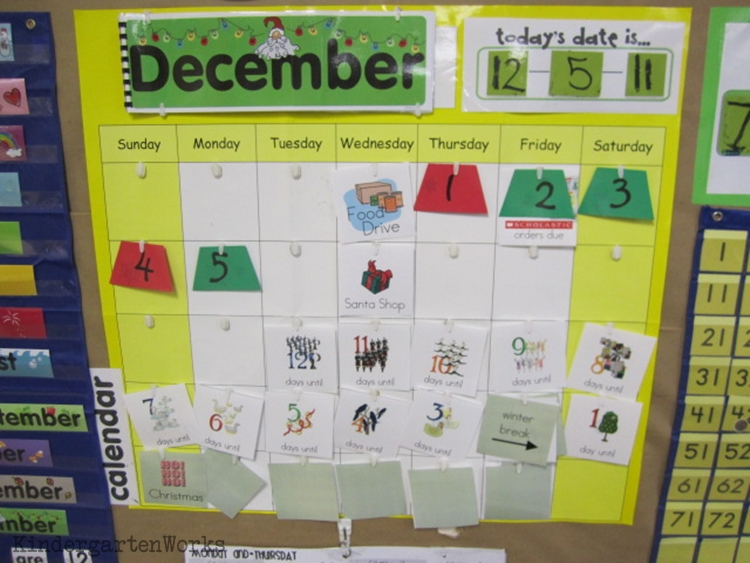 Kindergarten Calendar Math Ideas : Modifying calendar time in kindergarten kindergartenworks