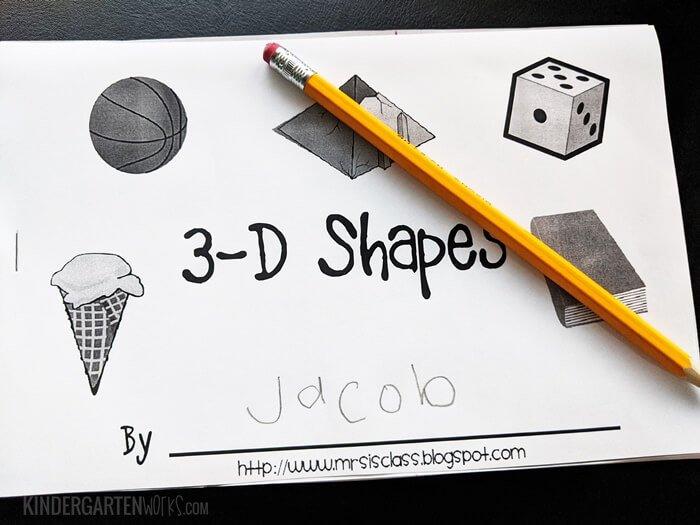 3D Shape Printable Book