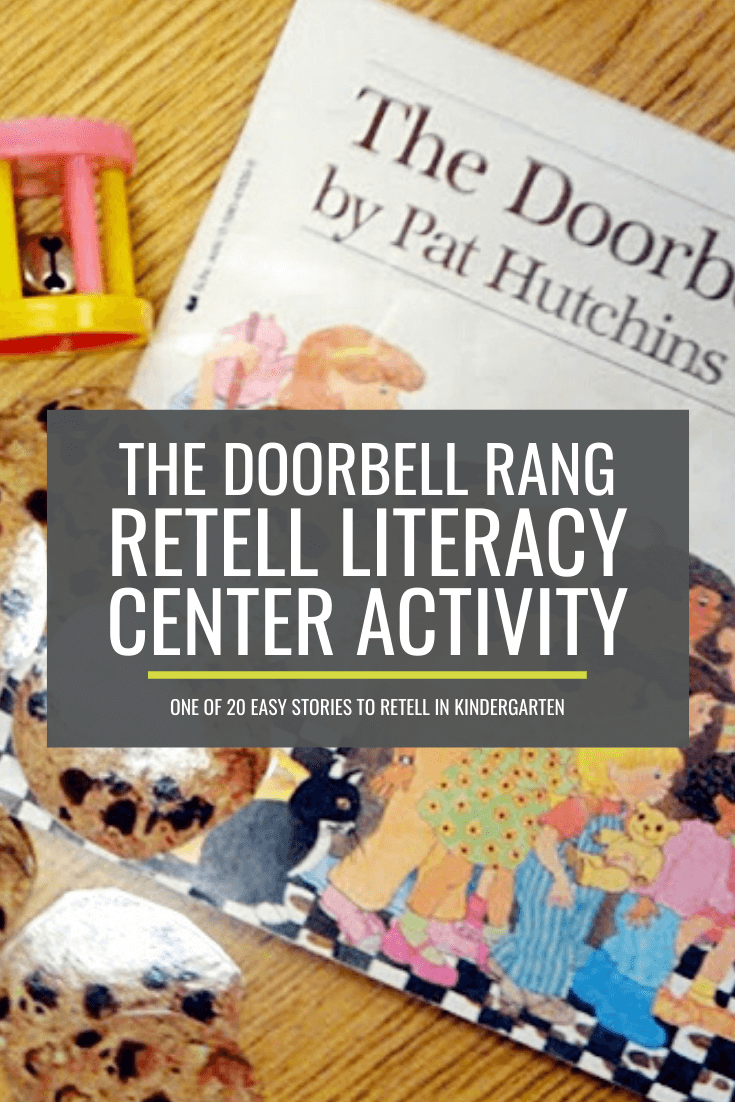 The Doorbell Rang Retell Literacy Center Activity