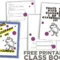 rhyming and Dr. Seuss class book {printable}