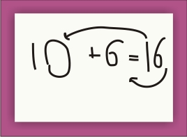 why does 10+6=16? - KindergartenWorks