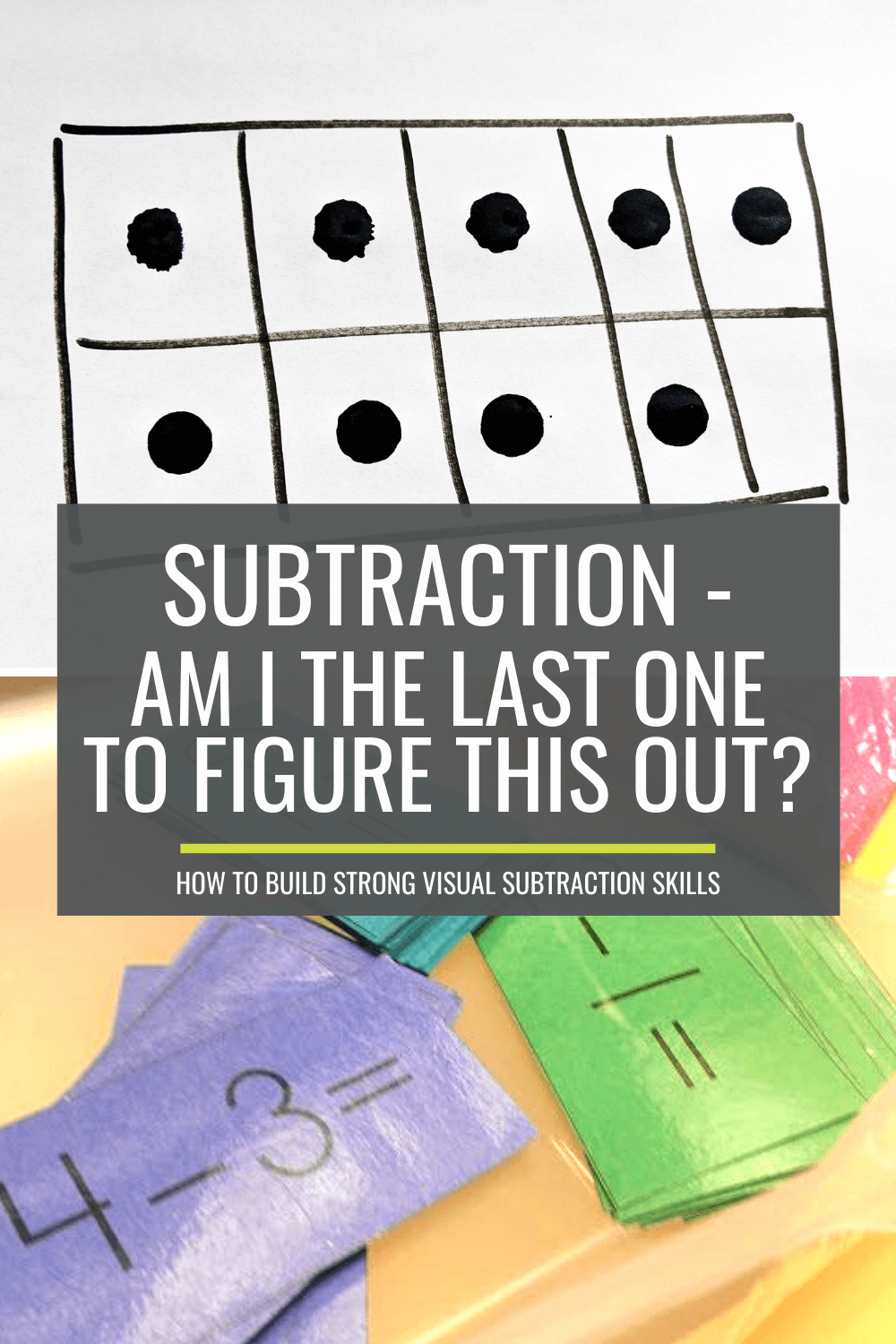 Subtraction - Am I the Last One to Figure This Out?