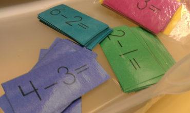 subtraction - am I the last one? {printable} - KindergartenWorks