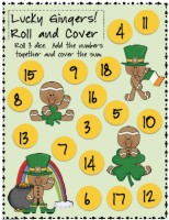 12 free picture directions for math games {printable}