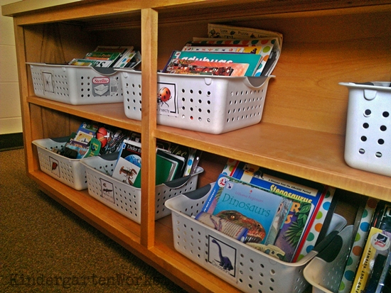 non-fiction literacy center {printable} - KindergartenWorks