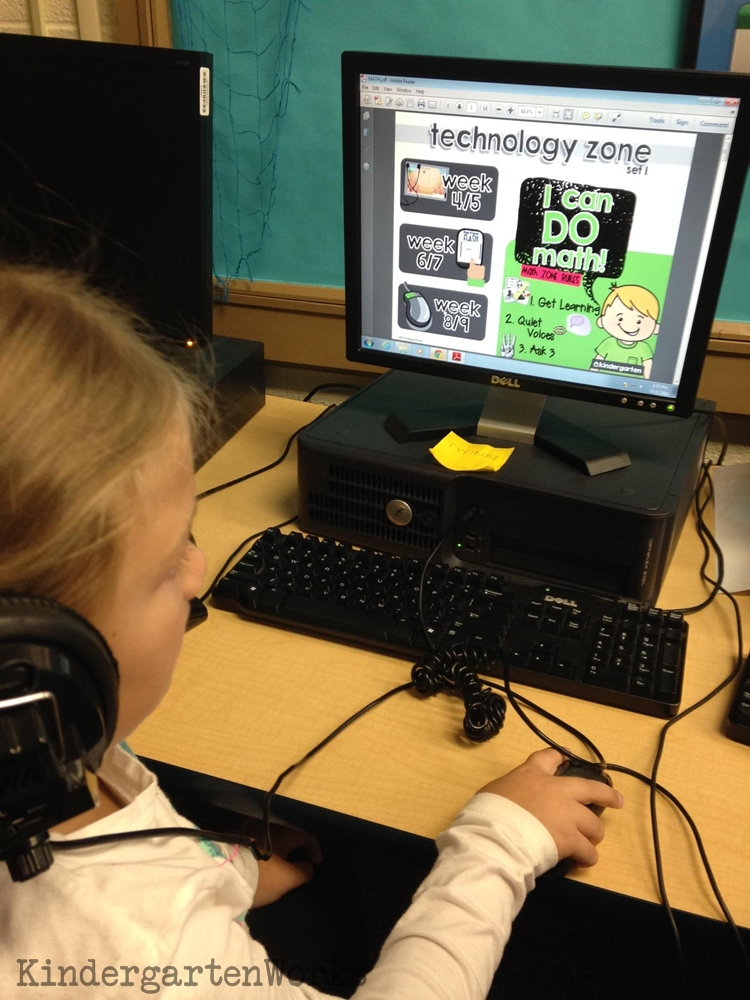 The Technology Zone {online math games collections} | KindergartenWorks
