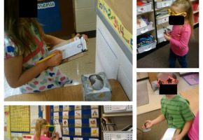 detective literacy center - read and write the room