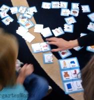 kindergarten puzzle literacy center - KindergartenWorks