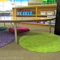 guided math - small group space guided setup - KindergartenWorks