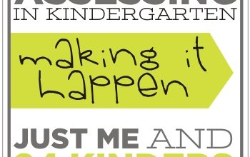 how to assess in kindergarten - just me and 24 kinders