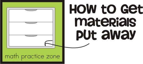 the practice zone {math games and activities} - KindergartenWorks