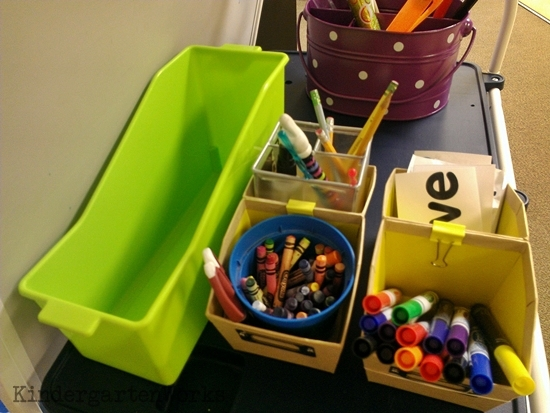 what's behind my teacher easel, volume 2 - KindergartenWorks