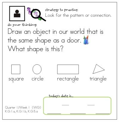 Teach: How to Draw a Ten Frame | KindergartenWorks