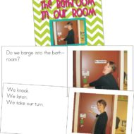 Classroom Procedures Book for the Bathroom