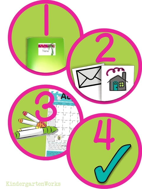 How to Use Icons to Develop Classroom Routines - free printable end of day routine icons