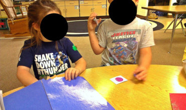 describing 2D shapes (K.G.4) - KindergartenWorks