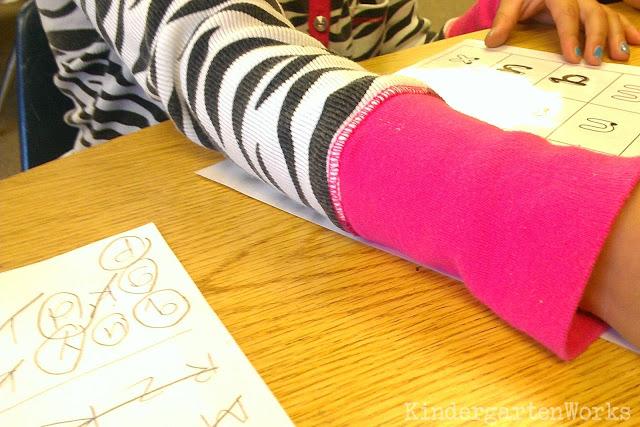 KindergartenWorks :: Handwriting Print Formation Progress Report {Free Printable}