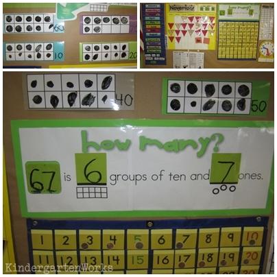 learning teen numbers in kindergarten