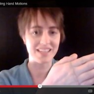 Segmenting and Blending Hand Motions {video}