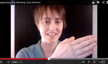 segmenting and blending hand motions - KindergartenWorks