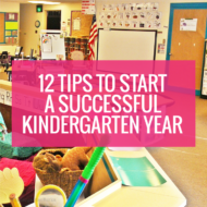 How to Start a Successful Kindergarten Year