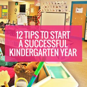 How to Start a Successful Kindergarten Year