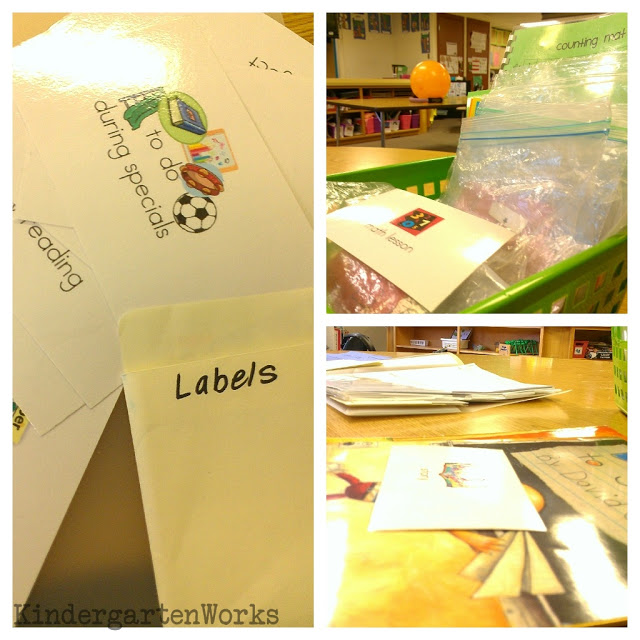 classroom life preserver {substitute prep} - KindergartenWorks