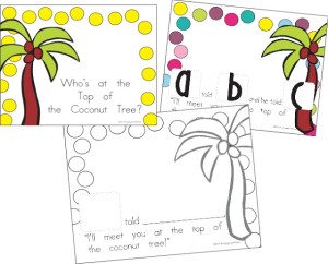 math worksheet : chicka chicka boom boom class book freebie printable  : Chicka Chicka Boom Boom Worksheets For Kindergarten