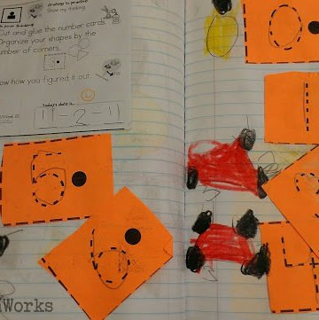 math journals - meet the Common Core - KindergartenWorks