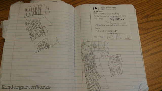 Kindergarten Math Journals: Meet the Common Core