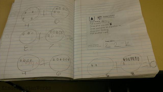Kindergarten Math Journals: Meet the Common Core