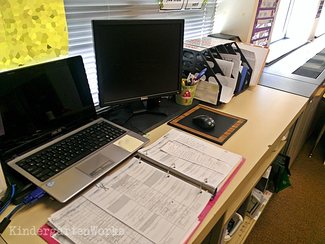 First year teacher mentor? Share your planning system (binder, etc.) so they can see a live example and make something similar if it fits their style