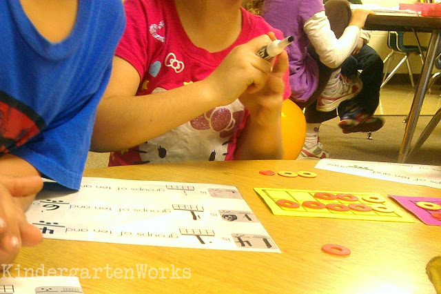 tips for working on decomposing and composing numbers in kindergarten - Part 2 KindergartenWorks