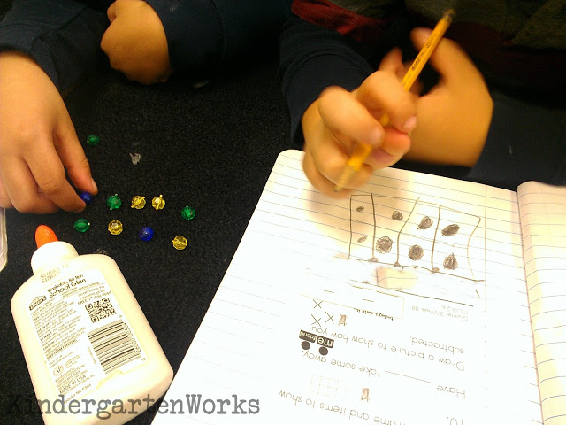 How to Teach Decomposing and Composing Numbers - Students need opportunities to draw out numbers using ten frames and a variety of objects. Give them time to draw in a math journal or during calendar time to express what these numbers look like.