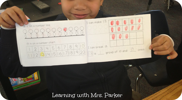 How to Teach Decomposing and Composing Numbers - composing and decomposing numbers booklet. Students to practice using words to make and break teen numbers.